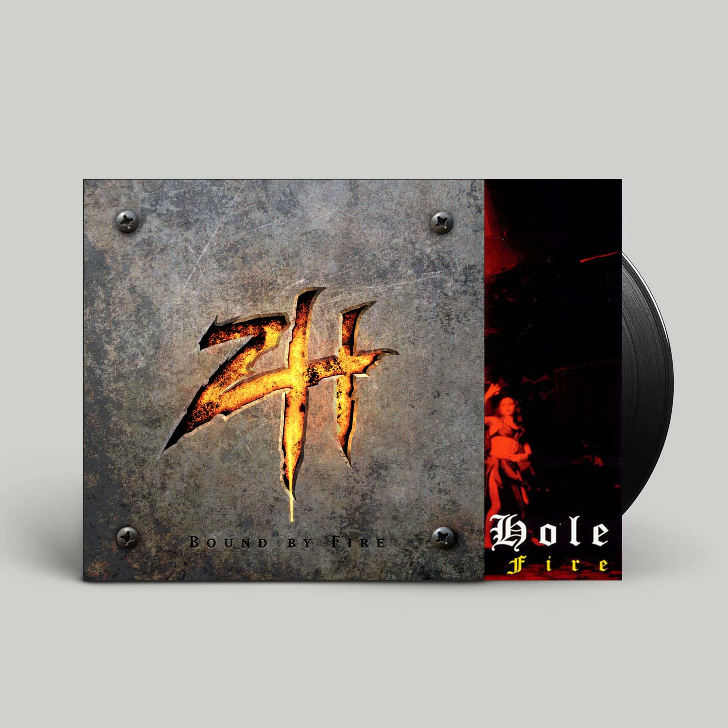 Zimmers Hole Bound By Fire Black Hole 180 Gram Vinyl