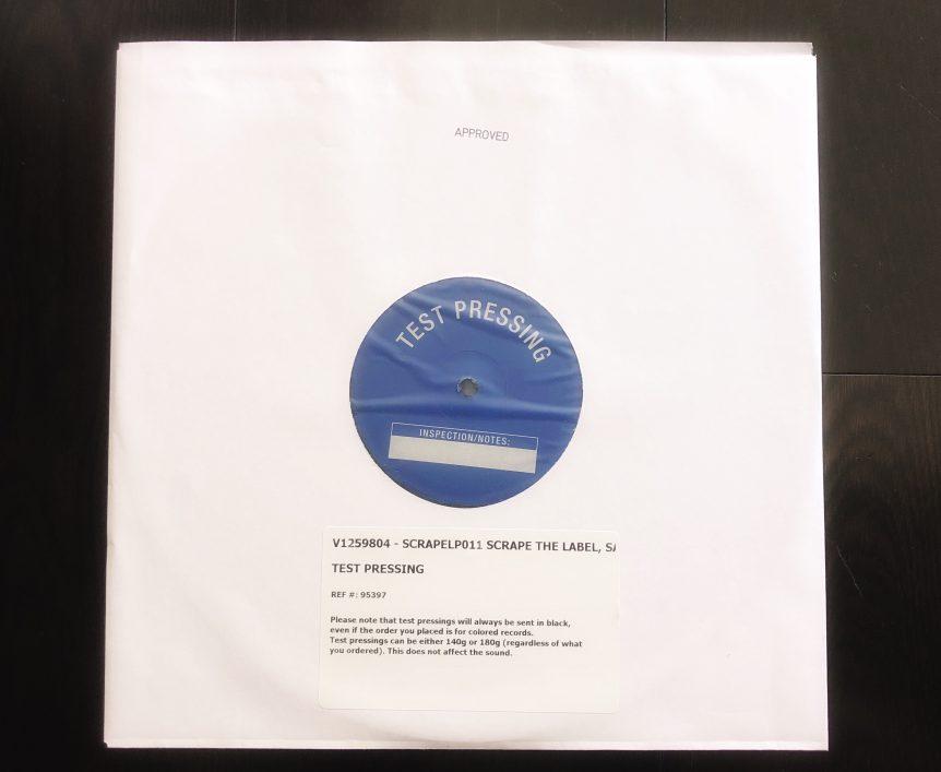 "SCRAPE Records""The Label"" Vinyl Test-Pressing"