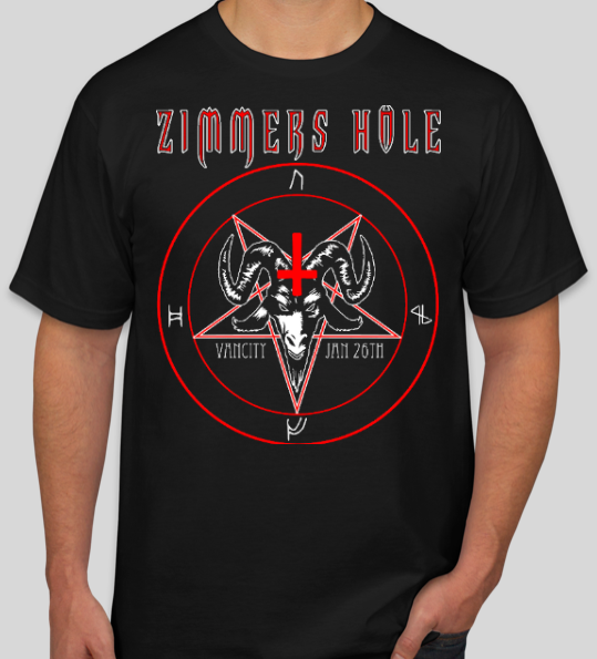 "<b>Zimmers Hole</b> <br/>""BOUND BY FLAMES EVENT"" Mens T-Shirt – Only a few left!"