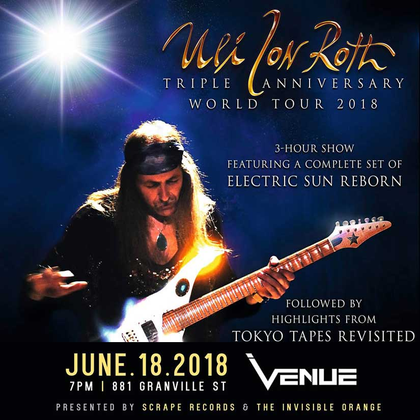 Tickets for Uli Jon Roth - Live in Vancouver June 18, 2019