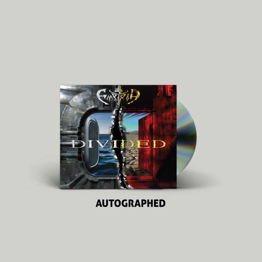 """<b>Empyria</b> """"Divided"""" Autographed CD Digi-Pak"""