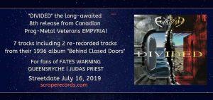 EMPYRIA new album June 2019