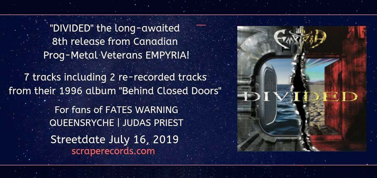 EMPYRIA new album June 2019