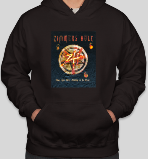 "<b>Zimmers Hole</b> <br />""When Your Were Shouting at the Devil…We Were In League With Satan"" Hoodie"