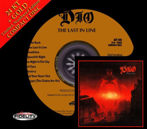 "<b>Dio</b> <br/>""The Last In Line"" Audio Fidelity Gold Disc"