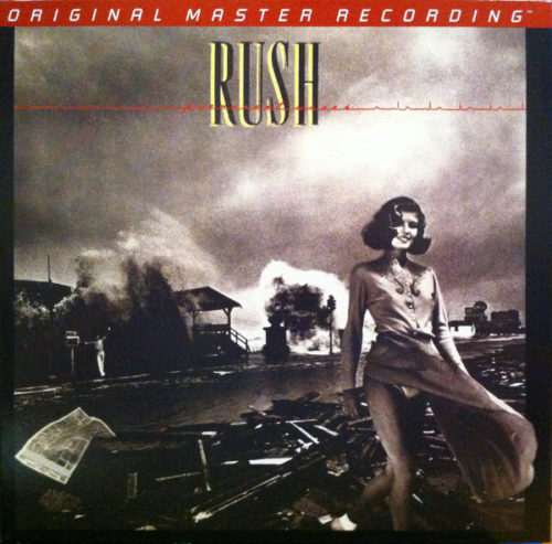 "<b>Rush</b> <br/>""Permanent Waves"" Mobile Fidelity Sound Lab 2LP"