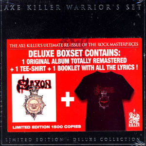 "<b>Saxon</b> <br/>""Axe Killer Warrior's Set: Strong Arm Of The Law"" CD+T-Shirt"