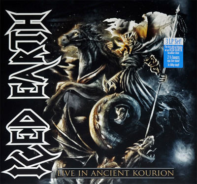 """<b>Iced Earth</b> <br/>""""Live In Ancient Kourion"""" 3LP"""