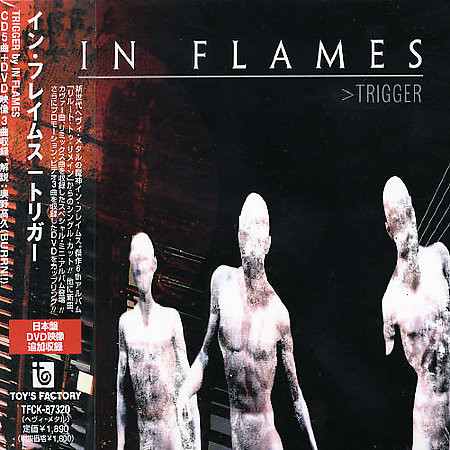 "<b>In Flames</b> <br/>""Trigger"" Japan CD"