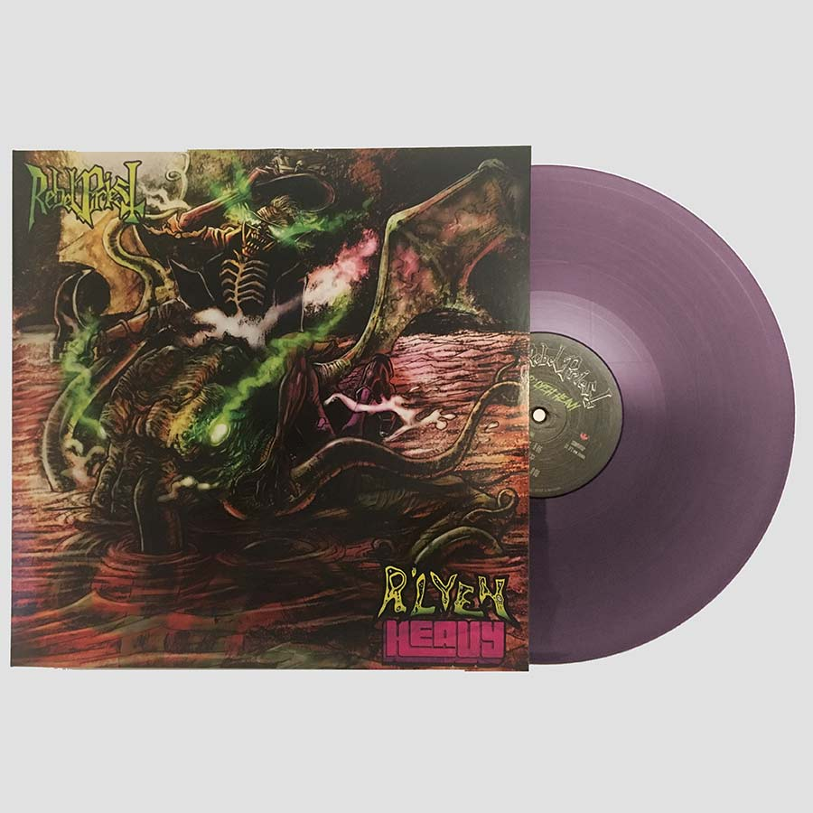 "<b>Rebel Priest</b> <br />""R'lyeh Heavy"" Translucent Purple Vinyl"