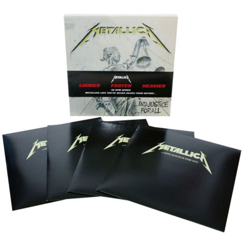 """<b>Metallica</b> <br/>""""…And Justice For All"""" 4LP Box Set"""