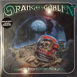 "<b>Orange Goblin</b> <br/>""Back From The Abyss"" Clear/Black Splatter 2LP"