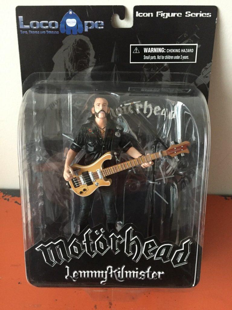 "<b>Motörhead</b> <br/>""Lemmy"" Icon Figure Series  – Last One!"
