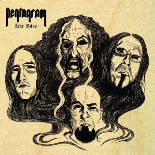 "<b>Pentagram</b> <br/>""Live Rites"" Transparent Grey Double Vinyl"