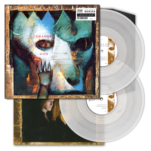 """<b>Paradise Lost</b> <br/>""""Shades of God"""" Clear Double Vinyl"""