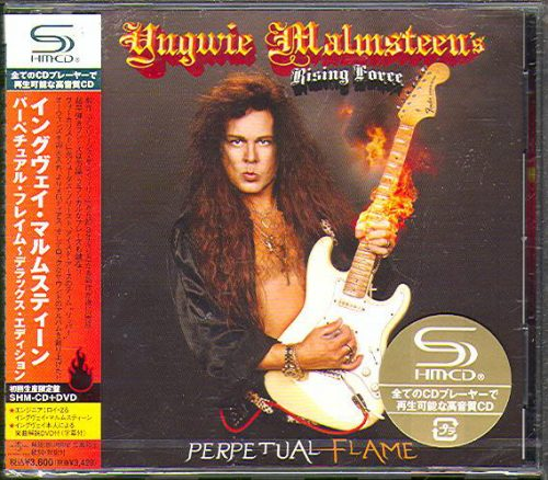 "<b>Yngwie Malmsteen</b> <br/>""Perpetual Flame"" Japan SHM CD/DVD"