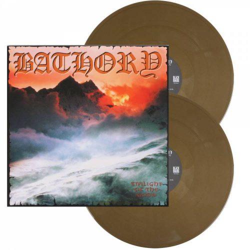 "Bathory – ""Twilight Of The Gods"" Gold Double Vinyl"