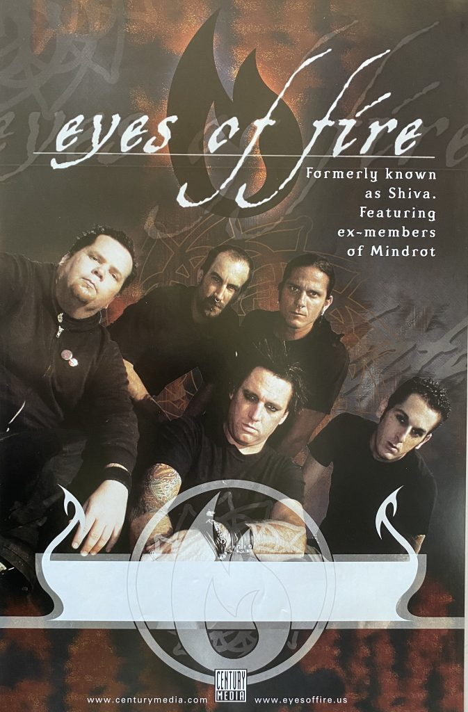 "Eyes Of Fire – ""Eyes Of Fire"" album promo 11″x17″"