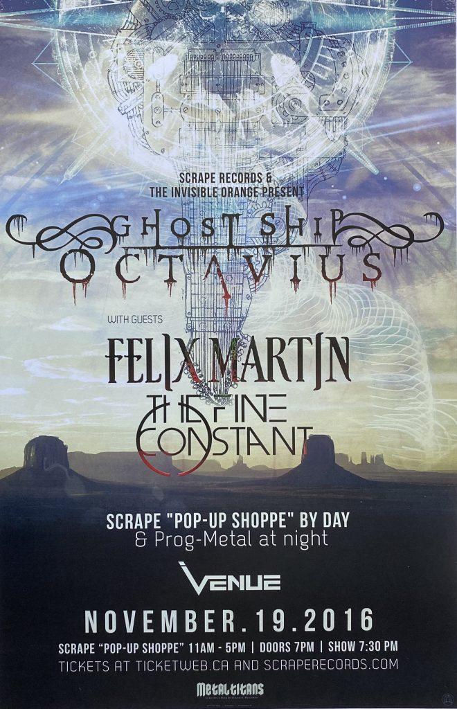 "Ghost Ship Octavius / Felix Martin – ""Vancouver"" 11″x17″"