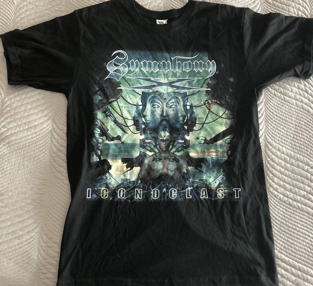 "<b>Symphony X</b> <br/>""Iconoclast"" T-Shirt Size Medium"