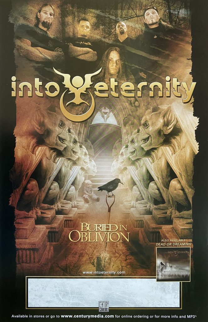 "Into Eternity – ""Buried in Oblivion"" album promo 11″x17″"