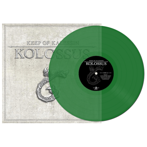 "<b>Keep of Kalessin</b> <br/>""Kolossus"" Green Vinyl"