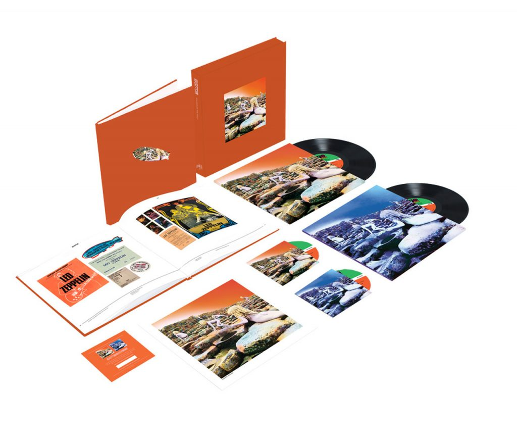 "<b>Led Zeppelin</b> <br/>""Houses of the Holy"" Super Deluxe Edition Box Set"