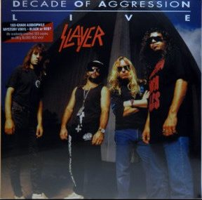 "<b>Slayer</b> <br/>""Decade of Aggression"" Red? 180gram Double Vinyl"