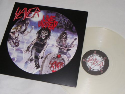 "<b>Slayer</b> <br/>""Live Undead"" Clear Vinyl"