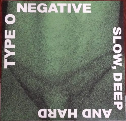 """Type O Negative – """"Slow, Deep and Hard"""" Green Translucent Double Vinyl"""