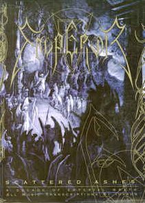 """<b>Emperor</b> <br/>"""" Scattered Ashes – A Decade Of Emperial Wrath"""" Tab Book w/CD"""