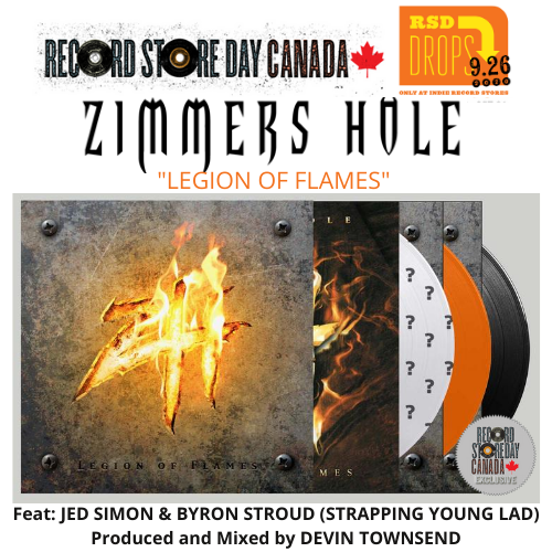 "<b>Zimmers Hole</b> <br />*RECORD STORE DAY CANADA 2020 EXCLUSIVE"" Legion Of Flames"