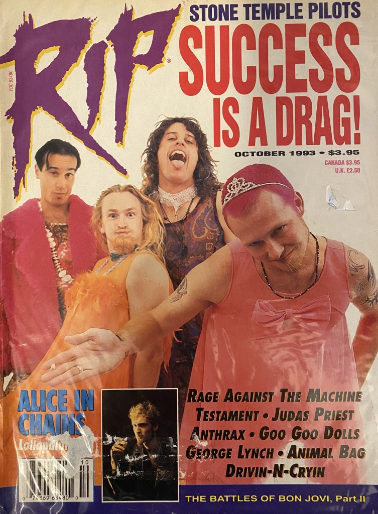 "<b>RIP</b> <br/>""Magazine"""