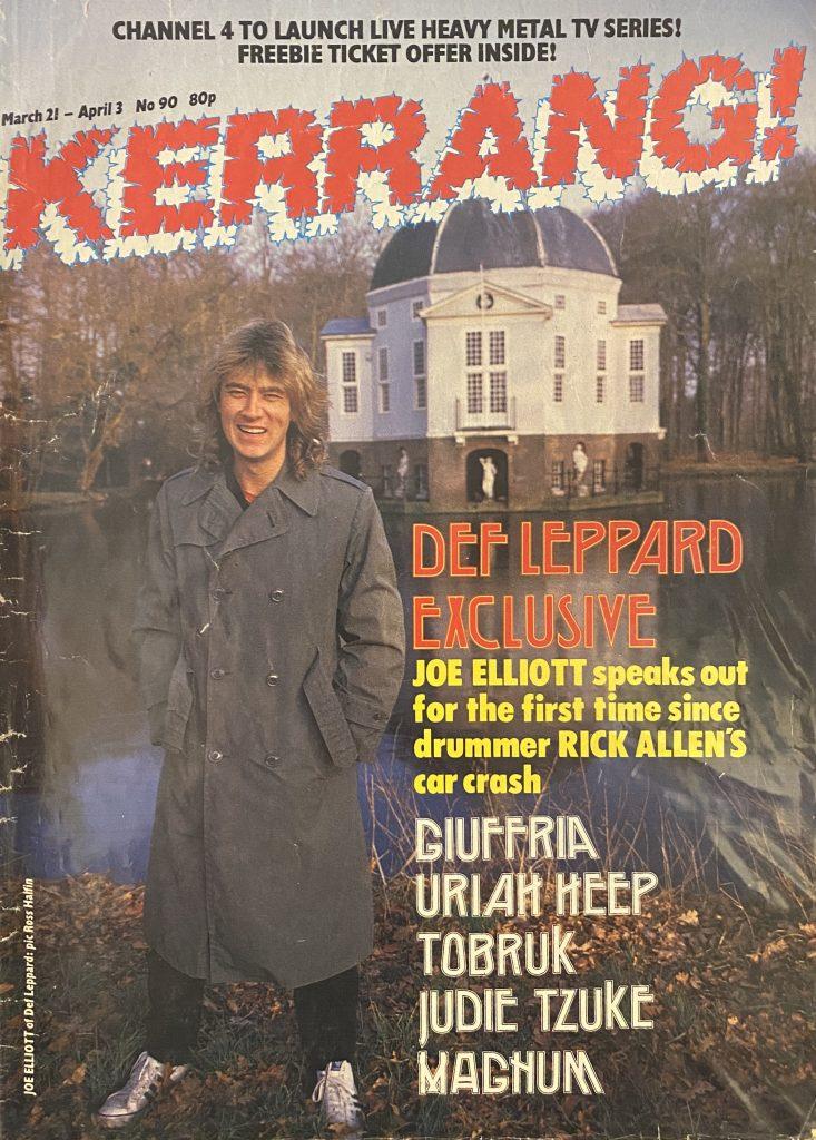 "<b>Kerrang!</b> <br/>""Magazine"""