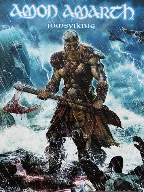"""Amon Amarth – """"Jomosviking"""" Promo 9″ x 12″"""