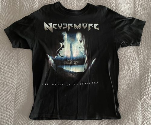 """Nevermore – """"The Obsidian Conspiracy Tour"""" XL T-Shirt"""