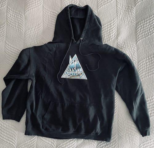 """Def Leppard- """"Logo"""" XL Hoodie"""