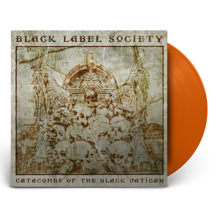 "Black Label Society – ""Catacombs Of The Black Vatican"" Orange Vinyl"