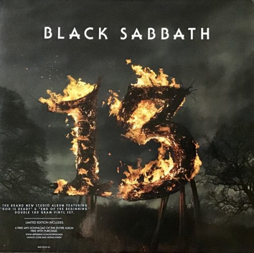 "Black Sabbath – ""13"" OG Press Double Vinyl"