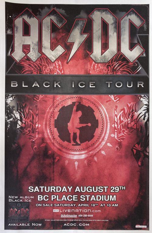 "AC/DC – ""Vancouver"" 11″x17″"