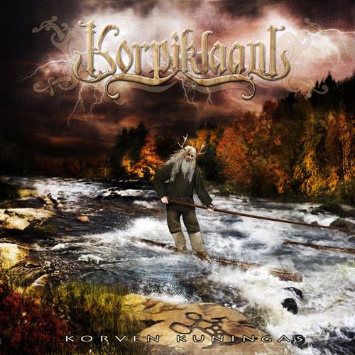 "Korpiklaani – ""Korven Kuningas"" OG Press White Vinyl"