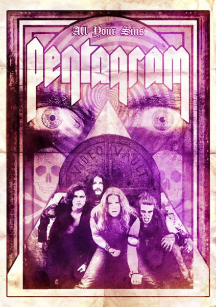 "Pentagram – ""All Your Sins (Video Vault)"" Double DVD"