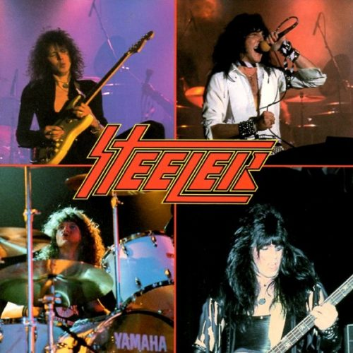 "Steeler (Yngwie Malmsteen) – ""Steeler"" OG Press CD"