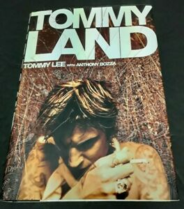 """Lee, Tommy – """"Tommy Land"""" Hardcover Book"""