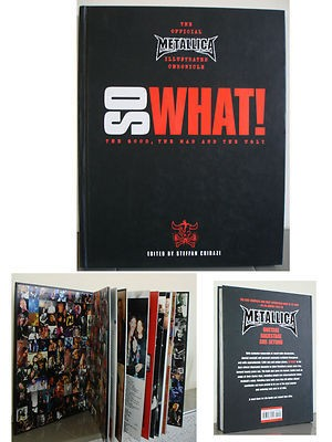 "Metallica – ""So What!"" Hardcover Book"