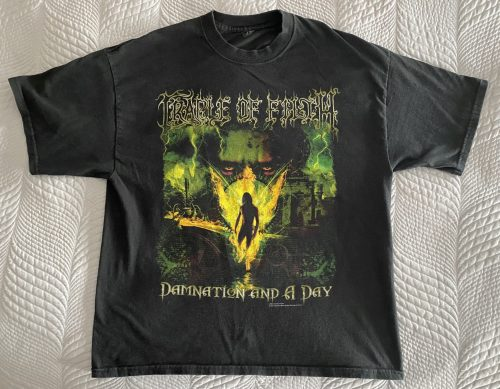 """Cradle of Filth – """"Damnation and a Day"""" XL T-Shirt"""