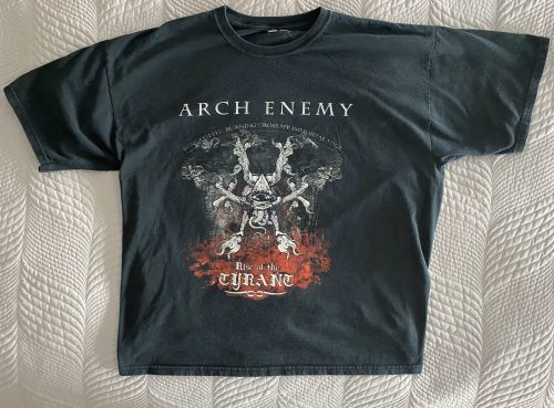 "Arch Enemy – ""World Tyranny Tour"" XL T-Shirt"