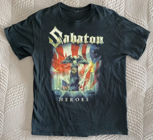 "Sabaton – ""Heroes Tour"" Large T-Shirt"
