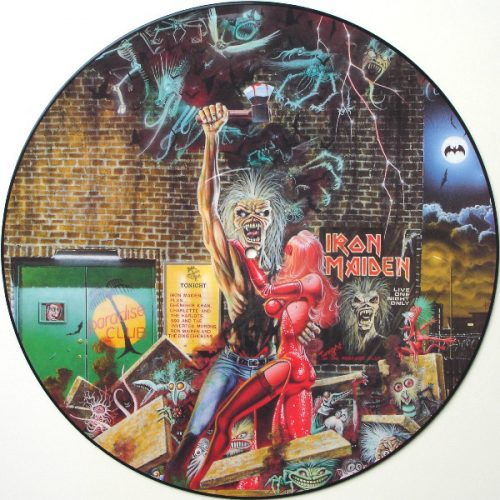 """Iron Maiden – """"Bring Your Daughter…To The Slaughter"""" 12″ Picture Disc"""