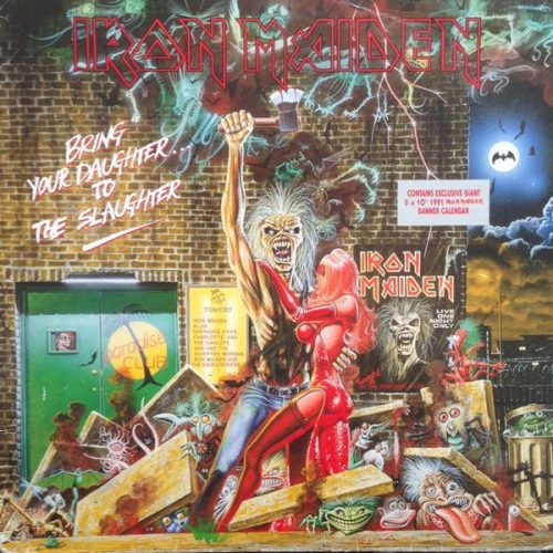 """Iron Maiden – """"Bring Your Daughter…To The Slaughter"""" 12″ Vinyl"""